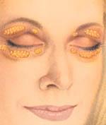 illustration of eyelid fat pockets
