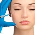 injection on face model
