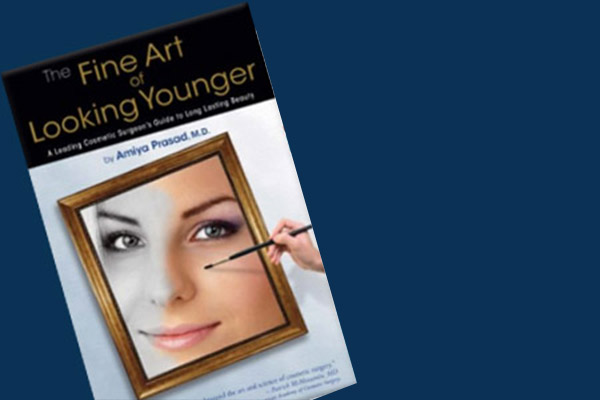 "Dr. Prasad's book ""The Fine Art of Looking Younger"""
