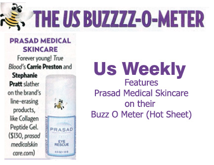 US Weekly features prasad medical skincare