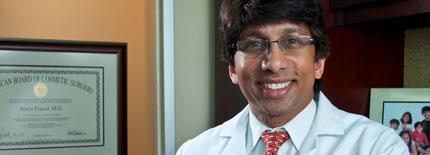 Dr. Prasad in his office