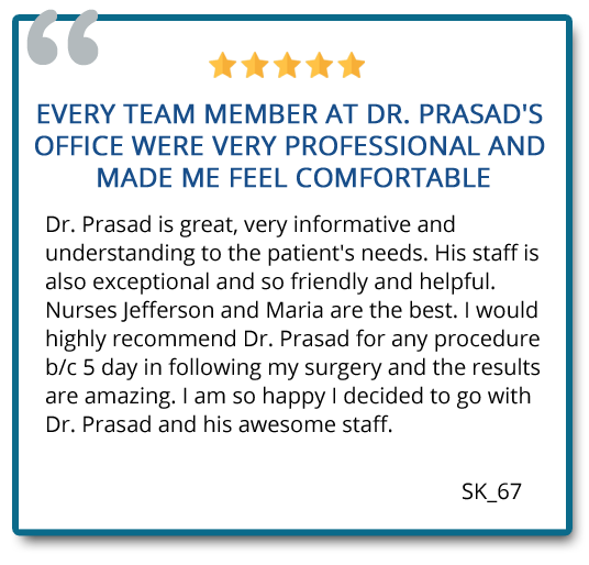 patient review on the service