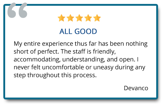 patient review on staff service