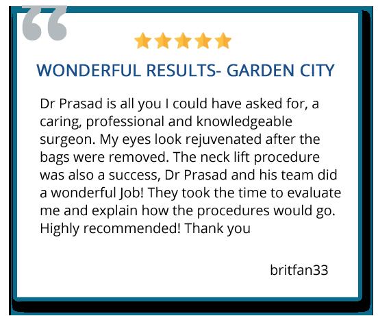 patient review on neck lift procedure
