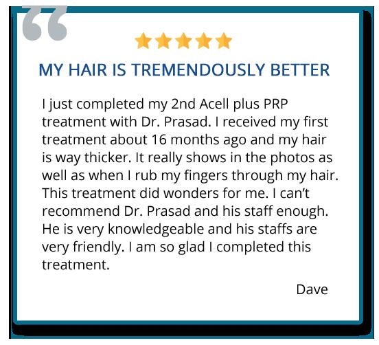 patient reviews on hair regeneration