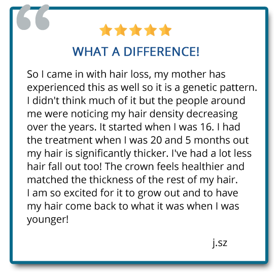 patient reviews on hair restoration