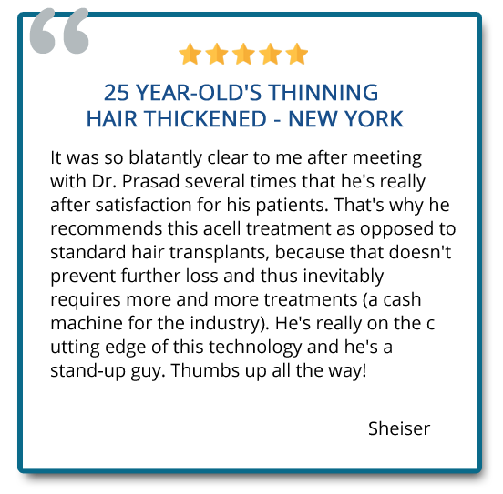 reviews on hair restoration