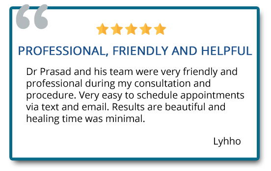 patient review on eyelid surgery and recovery